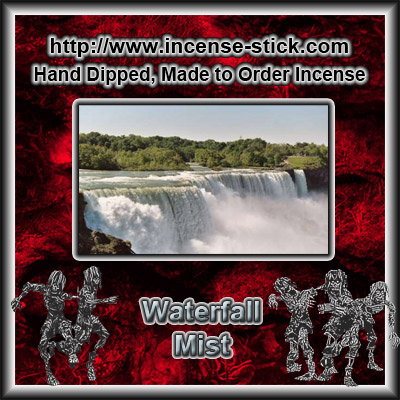 Waterfall Mist [BBW Type] - 6 Inch Incense Stick - 20 Ct Package