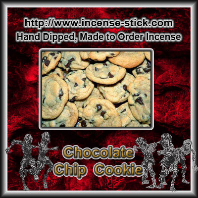 Chocolate Chip Cookie - 8 Inch Charcoal Sticks - 20 Count Pk.