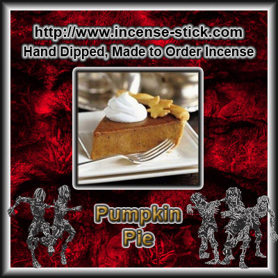 Pumpkin Pie - 8 Inch Charcoal Incense Sticks - 20 Count Package