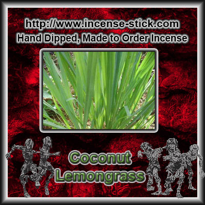 Coconut Lemongrass BBW [Type] - Charcoal Sticks - 20 Ct Package