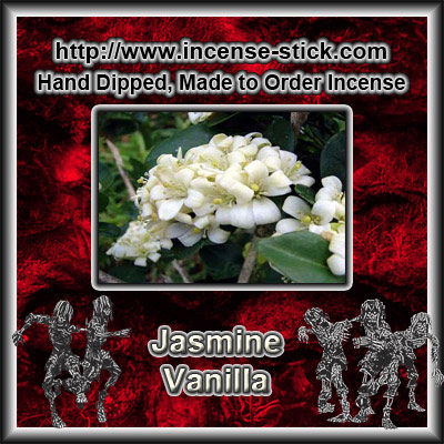 Jasmine Vanilla BBW [Type] - Colored Incense Cones - 20 Ct Pk