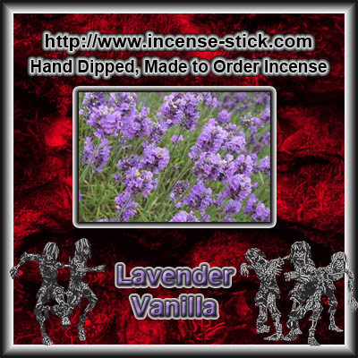 Lavender Vanilla BBW [Type] - Colored Incense Cones - 20 Ct Pk