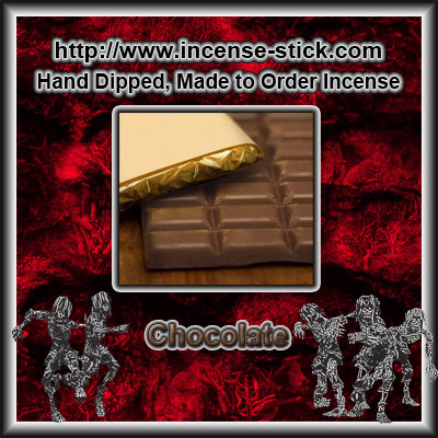 Chocolate - Charcoal Incense Sticks - 20 Count Package