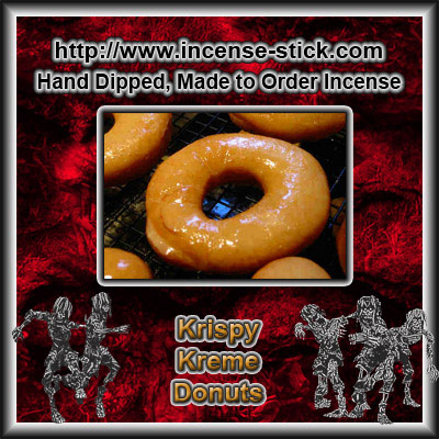 Krispy Kreme Donuts - Charcoal Incense Sticks - 20 Count Package