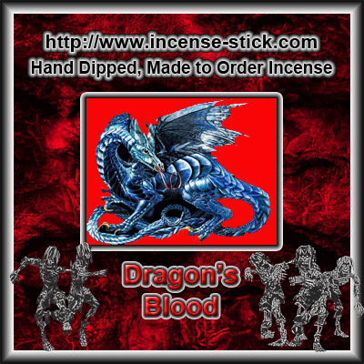 Dragon's Blood - Colored Incense Cones - 20 Count Package