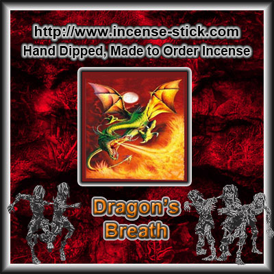 Dragon's Breath - Charcoal Incense Sticks - 20 Count Package