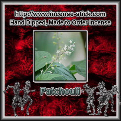 Patchouli - 4 Inch Incense Sticks - 20 Count Package