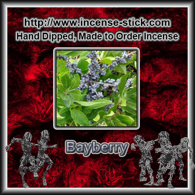 Bayberry - 8 Inch Charcoal Incense Sticks - 20 Count Package