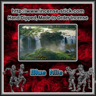 Blue Nile - Colored Incense Cones - 20 Count Packages