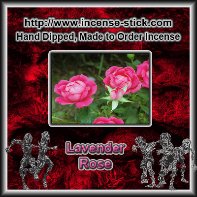 Lavender Rose - Incense Cones - 20 Count Package