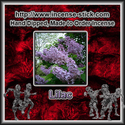 Lilac - Colored Incense Cones - 20 Count Packages