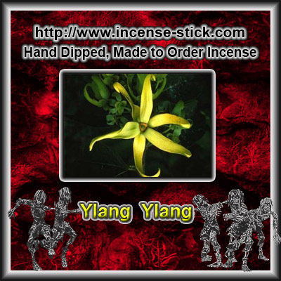Ylang Ylang - Black Incense Sticks - 20 Count Pacakge