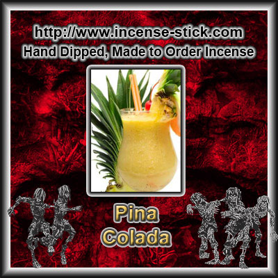 Pina Colada - Colored Incense Cones - 20 Count Package