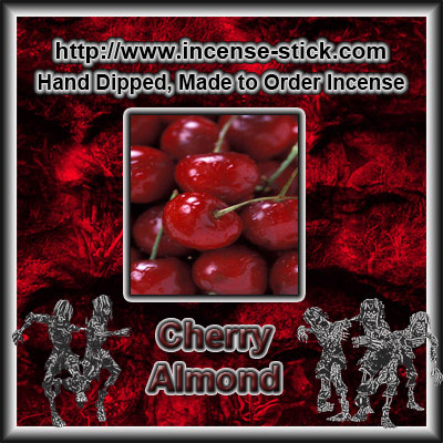 Cherry Almond - 8 Inch Charcoal Sticks - 20 Count Package
