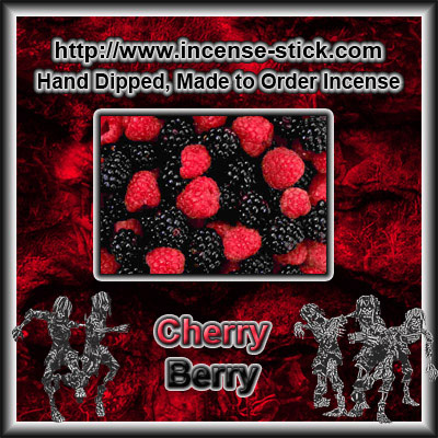 Cherry Berry - 8 Inch Charcoal Incense Sticks - 20 Count Package