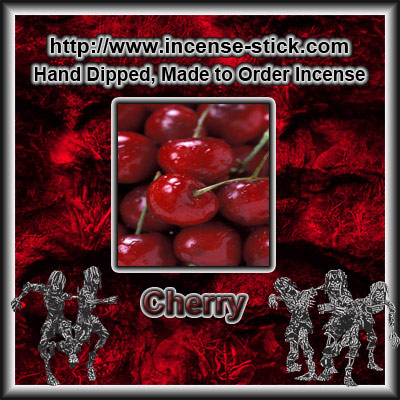 Cherry - 8 Inch Charcoal Incense Sticks - 20 Count Package