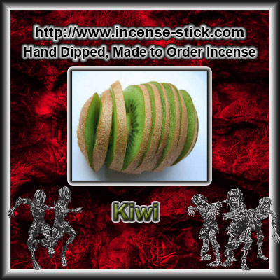 Kiwifruit - Colored Incense Sticks - 20 Count Pacakge