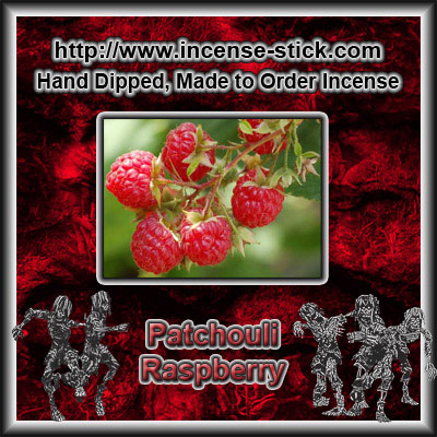 Raspberry Patchouli - 100 Stick(average) Bundle.