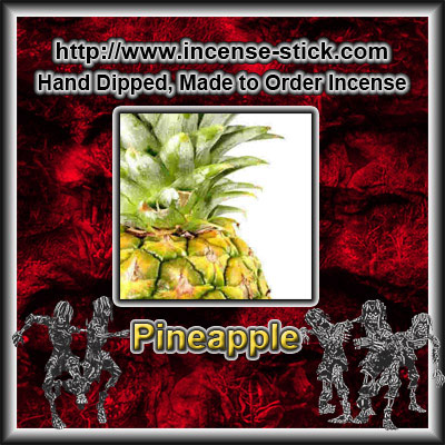 Pineapple - Charcoal Incense Sticks - 20 Count Package