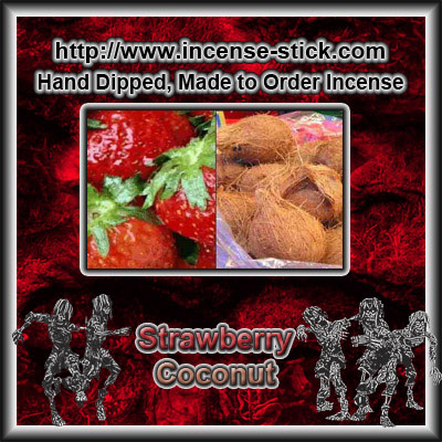 Strawberry Coconut - 100 Stick(average) Bundle.