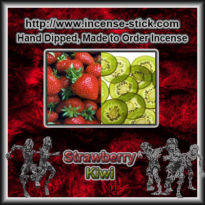 Strawberry Kiwifruit - Incense Cones - 20 Count Packages