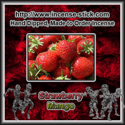 Strawberry Mango - 6 Inch Incense Sticks - 20 Count Package