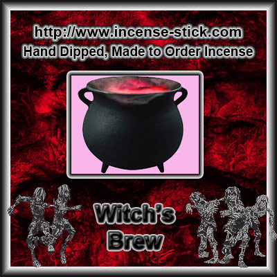 Witch's Brew - Black Incense Sticks - 20 Count Pacakge