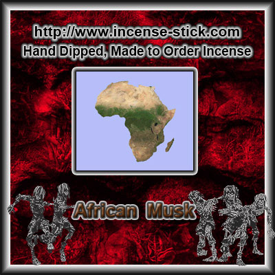 African Musk - Incense Cones - 20 Count Package