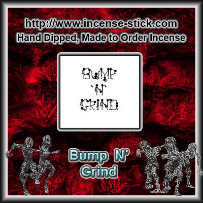 Bump `N` Grind - 6 Inch Incense Sticks - 20 Count Package