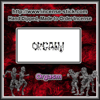 Orgasm - Incense Sticks - 25 Count Package