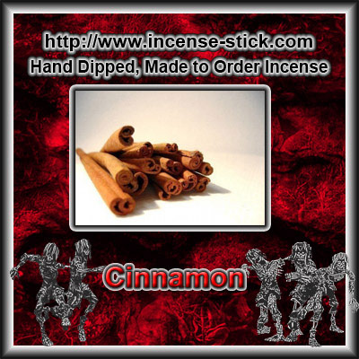 Cinnamon - Colored Incense Sticks - 20 Count Package