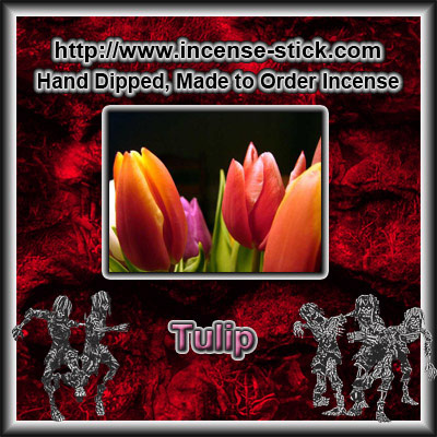 Tulip YC [Type] - Colored Incense Cones - 20 Count Package