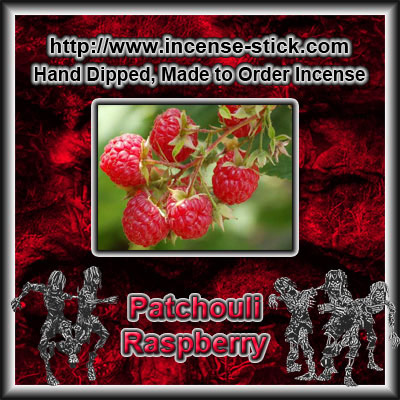 Patchouli Raspberry - Charcoal Incense Cones - 20 Count Package