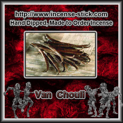 Van Chouli - 6 Inch Incense Sticks - 20 Count Package